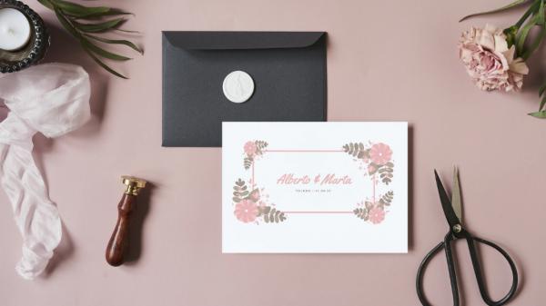 Invitaciones y detalles de boda