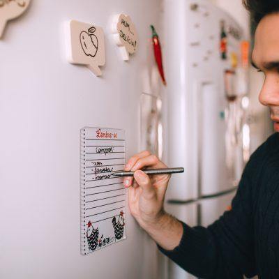 Calendario de nevera personalizado